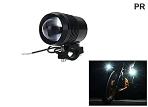 PR U2 LED Motorycle Fog Light Bike Projector Auxillary Spot Beam Light (Black, 1Pc) High Beam,Low Beam,Flashing Modes For Hero Maestro Edge VX