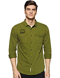 Amazon Brand - Inkast Denim Co. Men's Slim Fit Casual Shirts