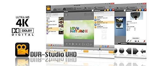 DVR-Studio UHD - DVB-Videoverarbeitung in Dateiform [Product Key Card] (Dvd-dvr-player)