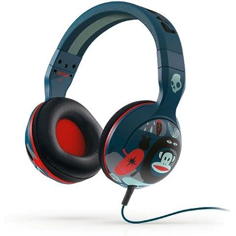 Skullcandy Hesh 2.0 SCS6HSFZ-330 - Auriculares de diadema cerrados, azul y rojo