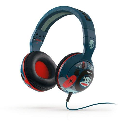 Hesh 2.0 Over-Ear, Blu navy/Rosso Paul Frank