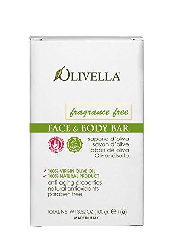 Olivella Pain de savon non parfumé - 100 g