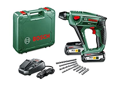 Bosch Uneo Maxx Herramienta Multifuncional, 3.6 W, 18 V, Negro, Verde, Rojo