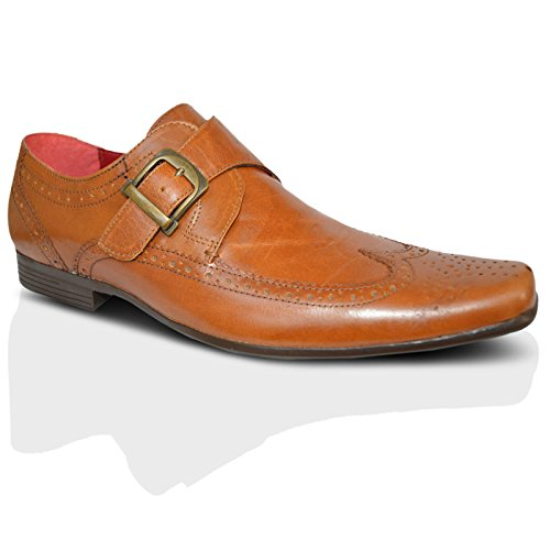 Red Tape , Richelieu homme Brown Tan