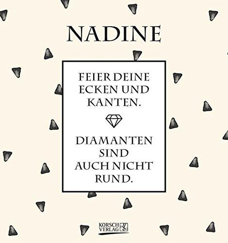 Namenskalender Nadine: Ideales Geschenk mit 12 trendigen Typo-Art-Sprüche mit immerwährendem Kalendarium. Wand-Aufstell-Postkarten-Kalender in einem. 4
