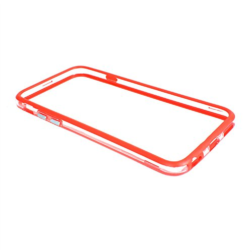 "D9Q ultra dünnen Rahmen Seite Button Bumper Case Hülle Skins für Iphone 6 Plus 5,5"" !!Rot"