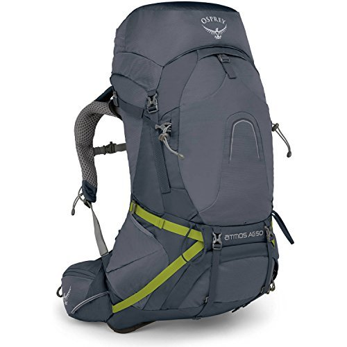 Osprey Atmos AG 50 Men's Backpacking Pack - Abyss Grey (MD)