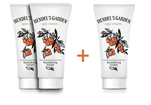 2 + 1 Crème pour le visage aux baies de Goji crème Goji de Hendels Garden, aide à ralentir le processus des rides