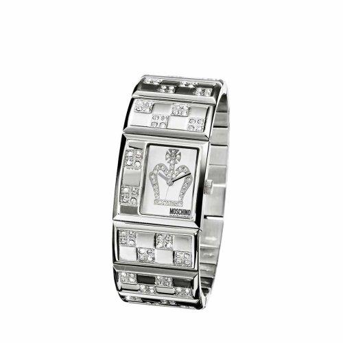 Moschino - MW0024 - Montre Femme - Quartz - Analogique - Bracelet Acier Inoxydable Argent