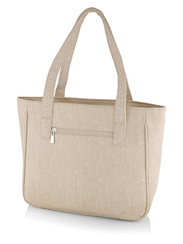 Butterflies Women's Handbag (Cream) (BNS WB0128)