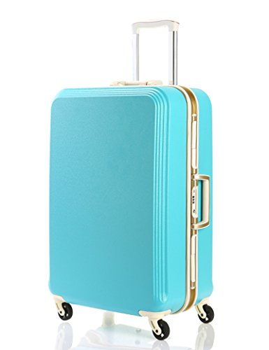 PC Aluminium Rahmen Aluminium Alu Trolley Fall Mute Universal - Runde Passwort Gepäck Tasche ( Farbe : 3 , größe : 28 inch ) 4