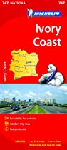 Michelin Map Africa Ivory Coast 747 (Maps/Country (Michelin))