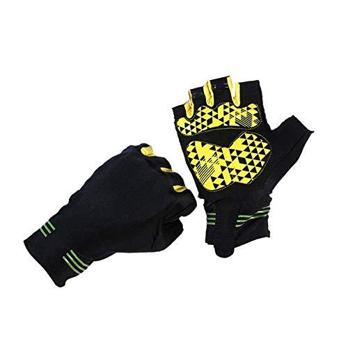 HalbeFinger Handschuhe, Outdoor-Reitsport-Fitnesshandschuhe, Verschleißfest Und Rutschfest, Für Outdoor-Camping, Wandern, Klettern, Indoor-Fitness (Color : -, Size : XL)