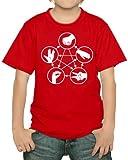 Touchlines - Camiseta infantil, algodón, diseño de