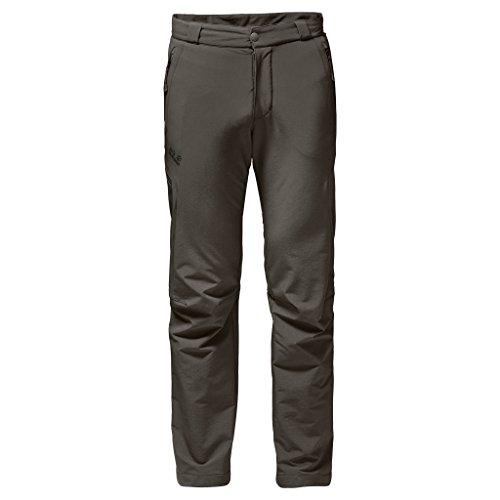 Jack Wolfskin Herren Activate Thermic Pants Men Softshell-Hose, Schwarz, 56 (EU) Olivbraun