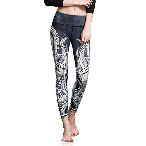 Doris Boutique FU - Hochwertige Yoga Workout Stretch Leggings - verschiedene Muster