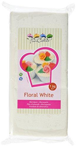 Funcakes - Pate D'Amande Blanche Floral Funcakes 1 Kg