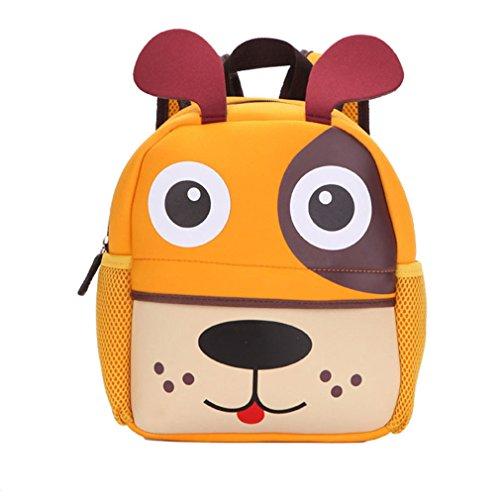 Imagen de  infantil 3d bolsa de escuela impermeable  para niños perrito
