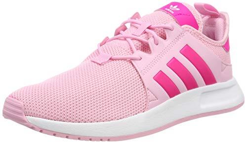 adidas Unisex-Kinder X_PLR J Sneaker, True Shock Pink/Footwear White 0, 38 EU