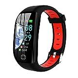 FinukGo F21 Step Sports Wasserdicht Laufen Schlaf Gesundheitsüberwachung Wear Smart Bracelet Herren Sportarmband - Rot