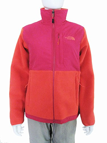 The North Face Women Denali Jacket, Recycled Rambutan Pink/Cerise Pink, Small -
