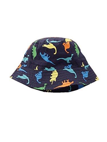GJ Sombrero Gorra Protección de Sol de Dibujos de Dinosaurios para Niño Niña (L (52cm))