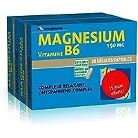 Arkopharma Magnésium B6 Lot de 2 x 60 Gélules