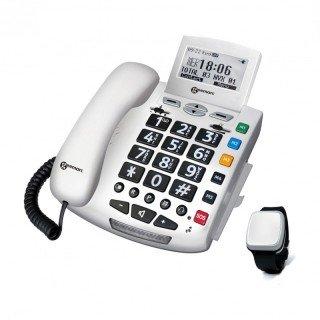 Sprechendes Notruftelefon Geemarc Serenities mit Fallsensor-Armband