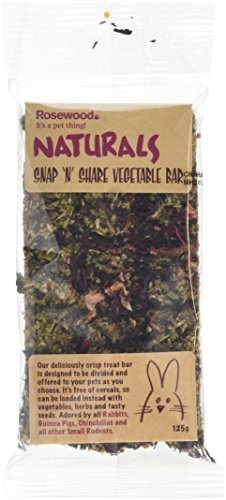 Rosewood Naturals Snap-n-Share Vegetable Bar Treat 125 g Test