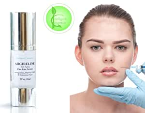 ARGIRELINE Matrixyl 3000 Peptide Serum 100% Hyaluronic Acid HA Anti Ageing NEW 30ml