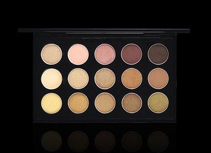 MAC Palette Eyeshadow x15 Warm Neutral by M.A.C (Mac Make-up)