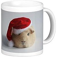 queenl di Natale Carino Babbo della Guinea Pig Tazza Mug tazza di caffè Tazza di Caffè Regalo di natale