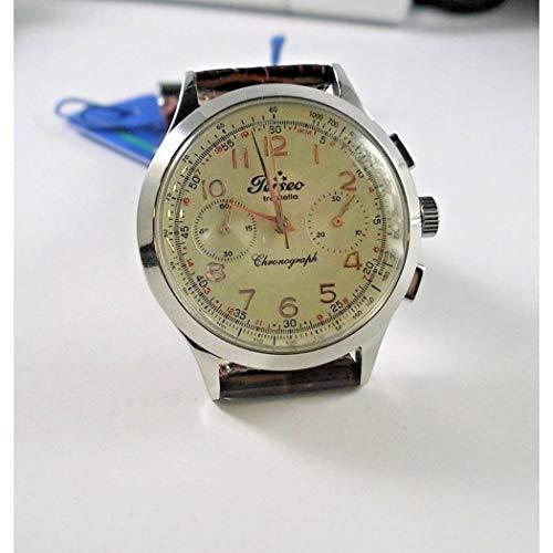 Orologio Perseo 4201.01 cronografo carica manuale cinturino pelle marrone
