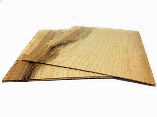 Ahorn Kirschbaum (Starkfurnier Sägefurnier in den Holzarten Ahorn Maple Eiche Lärche Fichte Nussbaum Geeignet für viele Furnierarbeiten wie Modellbau; Restauration (Ahorn 1,4mm))
