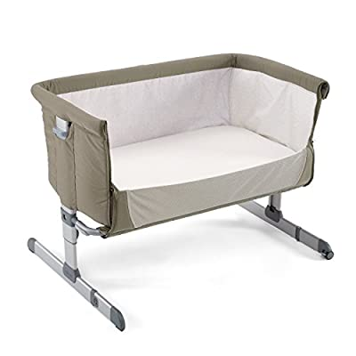 Chicco Next2me Side Sleeping Crib - Dove Grey