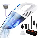 Handheld Vacuums Cordless Car Vacuum Cleaner, 12V 120W 2500Amh Mini Portable & Rechargeable