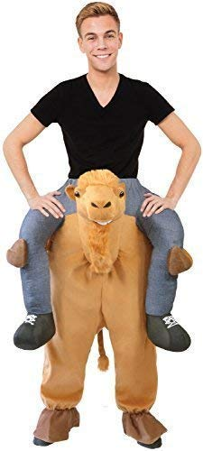 Erwachsene Schritt darauf Reiten Kamel Tier Karneval Herrenabend Henne Do Abend Party Kostüm Kleid - Kostüm Reiten Tiere