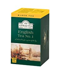 Ahmad Tea English Tea No. 1, 20-Count Boxes (Pack of 6)