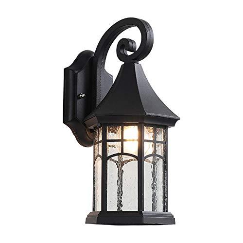 Outdoor Home Wandleuchte Balkon Licht Garten Villa Hof Gangbeleuchtung Retro Loft Beleuchtung Lampe Schwarz Wandleuchte Led Innen -