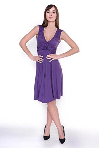 AE - Robe spécial grossesse - Sans Manche - Femme Violet - Violet