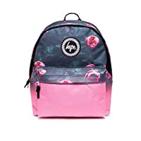 HYPE Backpack Rucksack School Bag for Girls Boys | Pink Rose Fade | Gym Travel Casual Day use