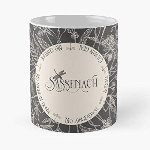 Outlander Sassenach Jamie Fraser Claire - Best Gift Mugs Mo Nighean Dunn Donn Gaelic Terms Of Endearment Nicknames Quote Books Best Personalized Gifts -