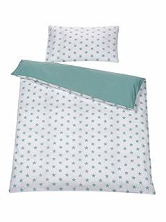 Schardt, edredón completo y almohada para cama reversible, 2 uds, Verde (Big Stars menta) (B00JAICJ3Y) | Amazon Products