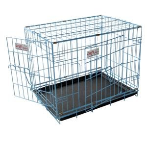 Croft 30 ins Alpine Dog Crate Choice of Black, Pink or Blue