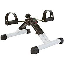 Tunturi-Fitness 14Tusfu261 Mini Bicicleta Estática Plegable, Unisex adulto, Negro, ...