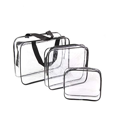 Clear Toiletries Bag, Funnasting...