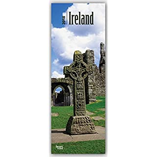 Ireland - Irland 2018: Original BrownTrout-Kalender - Slimeline [Mehrsprachig] [Kalender] (Slimline-Kalender)