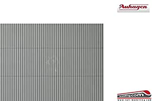 Auhagen 52433troughed láminas Gris único de Modelado Kit