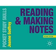 [(Reading and Making Notes)] [ By (author) Jeanne Godfrey ] [June, 2014]