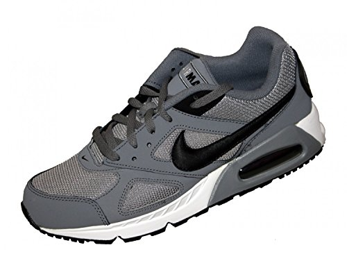 Nike Herren Air Max Ivo Laufschuhe Gris / Negro / Blanco (Cool Grey / Black-White)